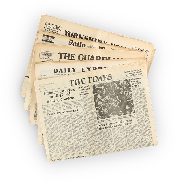 Newspapers from the Irish Newspaper Archives